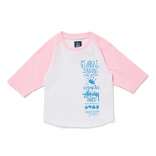 STUSSY KIDS / ステューシー キッズ | Kids Global Gathering Raglan - Pink ★
