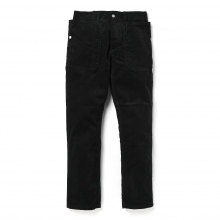 SASSAFRAS / ササフラス | FALL LEAF SPRAYER PANTS - CORDUROY - Black ★
