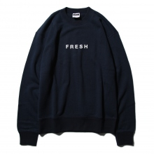 FreshService / フレッシュサービス | LOOPWHEELER × FreshService Crew Neck Sweat - Navy