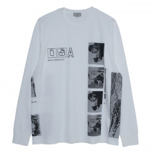 C.E / シーイー | POTENTIALITIES LONG SLEEVE T - White ☆
