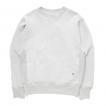 BEDWIN / ベドウィン | L/S HAVEY COTTON C-NECK SWEAT 「LOU」 - Gray
