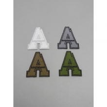 ....... RESEARCH | A.M. Patch (Small) - White × Gray × Coyote × Khaki / Set