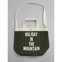 ....... RESEARCH | Shoulder Tote - Khaki