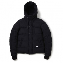 BEDWIN / ベドウィン | HOODED DOWN JACKET 「QUINE」 - Black