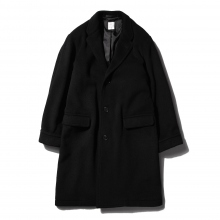 BEDWIN / ベドウィン | CHESTER COAT 「PHILIP」 - Black ★