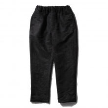 RANDT / アールアンドティー | RANDT - Studio Pants - Polyester Faux Suede - Black