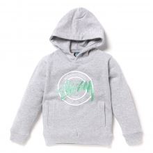 STUSSY KIDS / ステューシー キッズ | Kids IST Dot App. Hoodie - Grey Heather ★