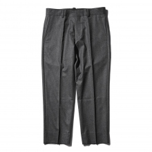 BEDWIN / ベドウィン | 9/L CANONICO WOOL PANTS 「JESSEE」 - Gray