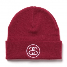 STUSSY KIDS / ステューシー キッズ | Kids SS Link Emb.Beanie - Red ☆