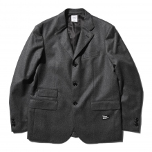 BEDWIN / ベドウィン | 3B CANONICO WOOL TAYLOR JACKET 「MICHAEL」 - Gray ★