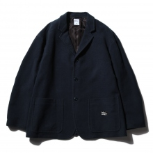3B COTTON MOLESKIN JACKET 「MICHAEL」 - Navy