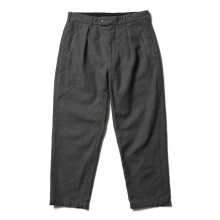 RANDT / アールアンドティー | Daily Pant - Wool Poly Flannel - Grey
