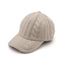 HABANOS / ハバノス|ALAN KNIT B.B CAP - White