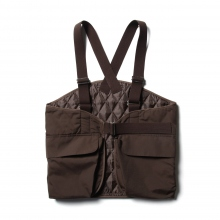 ....... RESEARCH | H.P. Vest - TCシェル - Brown