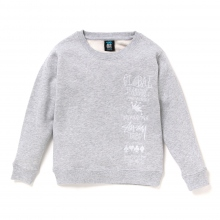 STUSSY KIDS / ステューシー キッズ | Kids 1st Annual App. Crew - Grey Heather ★