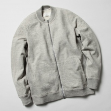 CURLY / カーリー | RAFFY ZIP CREW exclusively at COLLECT STORE - Gray
