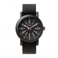 TIMEX / タイメックス | Over-Size Camper - Black