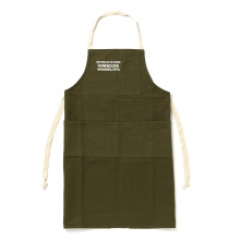 COW BOOKS / カウブックス | Book Vender Apron - Green × Ivory