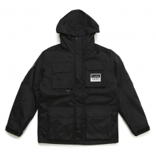 ELVIRA / エルビラ | MOUNTAIN 3WAY JACKET - Black