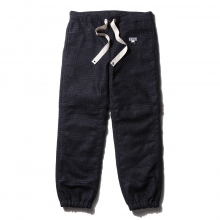 ....... RESEARCH | W Face Pants - Navy × Black