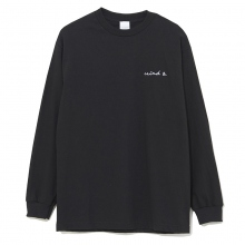 WIND AND SEA / ウィンダンシー | LONG SLEEVE CUT-SEWN E - Black