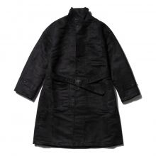 RANDT / アールアンドティー | RANDT - Studio Coat - Polyester Faux Suede - Black