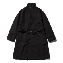RANDT / アールアンドティー | RANDT - Studio Coat - Wool Acrylic Serge - Black