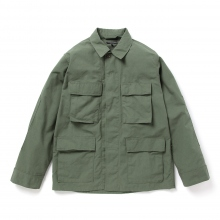 ENGINEERED GARMENTS / エンジニアドガーメンツ | BDU Jacket - Nyco Ripstop - Olive