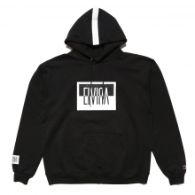 ELVIRA / エルビラ | REVERSAL BOX HOODY - Black