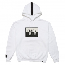 ELVIRA / エルビラ | REVERSAL BOX HOODY - White