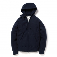 ENGINEERED GARMENTS / エンジニアドガーメンツ | EG Workaday Raglan Zip Hoody - Navy