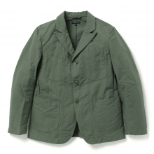 ENGINEERED GARMENTS / エンジニアドガーメンツ | Bedford Jacket - Cotton Double Cloth - Olive