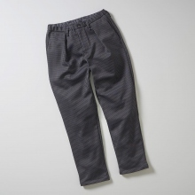 CURLY / カーリー | BLEECKER TAPERED TROUSERS - Gray Check ☆