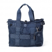 Porter Classic / ポータークラシック | SUPER NYLON TOTE BAG - Blue