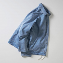 CURLY / カーリー | MAZARINE COACH JACKET - Ice Indigo