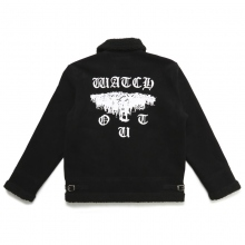 ELVIRA / エルビラ | WATCH OUT B-3 JACKET - Black
