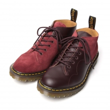 ENGINEERED GARMENTS | Dr. Martens × EG - EG Special - Church Lace Low Boot / Suede Combo - Burgundy