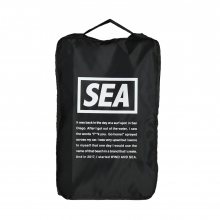 WIND AND SEA / ウィンダンシー | WDS TRAVEL POUCH (MEDIUM) - Black
