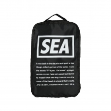 WIND AND SEA / ウィンダンシー | WDS TRAVEL POUCH (SMALL) - Black