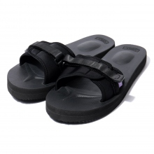 NEPENTHES | Suicoke × NEPENTHES Purple Label - Slide-In Sandal w/ A-B Vibram - Neoprene - Black