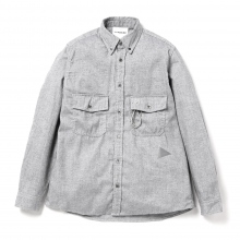 and wander / アンドワンダー | thermo nell shirt (M) - Gray