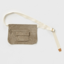 Hender Scheme / エンダースキーマ | waist belt bag wide - Beige