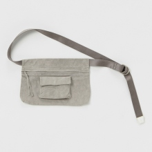 Hender Scheme / エンダースキーマ | waist belt bag wide - Light Gray