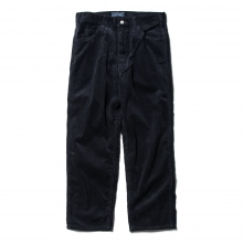 Living Concept / リビングコンセプト | 5POCKET WIDE CORDUROY PANTS - Navy