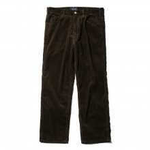 Living Concept / リビングコンセプト | 5POCKET WIDE CORDUROY PANTS - Brown