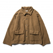 NAISSANCE / ネサーンス | FLEECE SHIRT JACKET - Brown ★