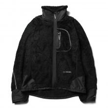 and wander / アンドワンダー | high loft fleece jacket - Black ★