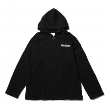 WIND AND SEA / ウィンダンシー | SEA BIG ZIP HOODIE - Black