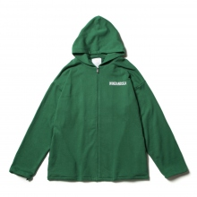 WIND AND SEA / ウィンダンシー | SEA BIG ZIP HOODIE - Green