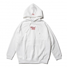 WIND AND SEA / ウィンダンシー | GLITTER WDS HOODIE - White